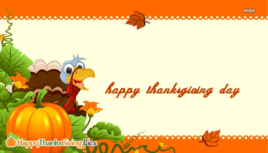 Happy Thanksgiving Turkey Images, Messages