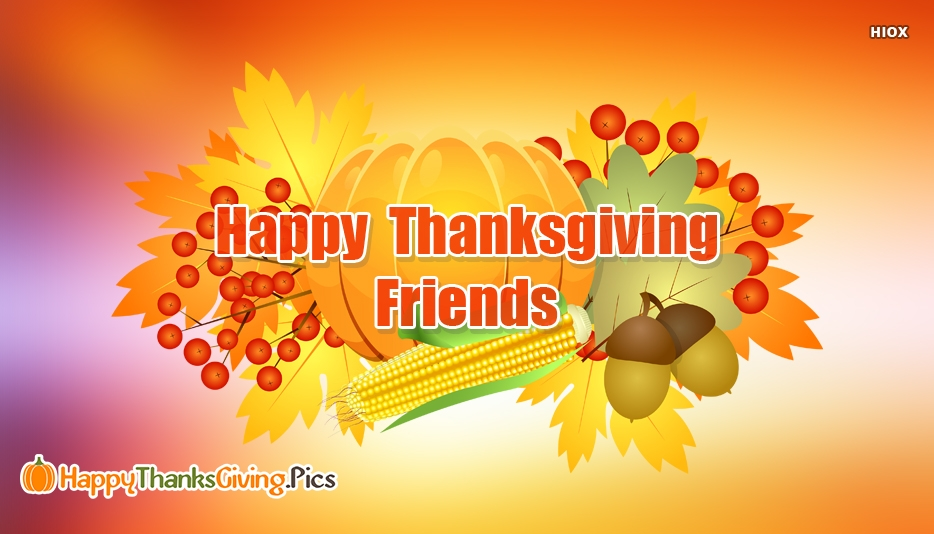 Thanksgiving Images For Friends