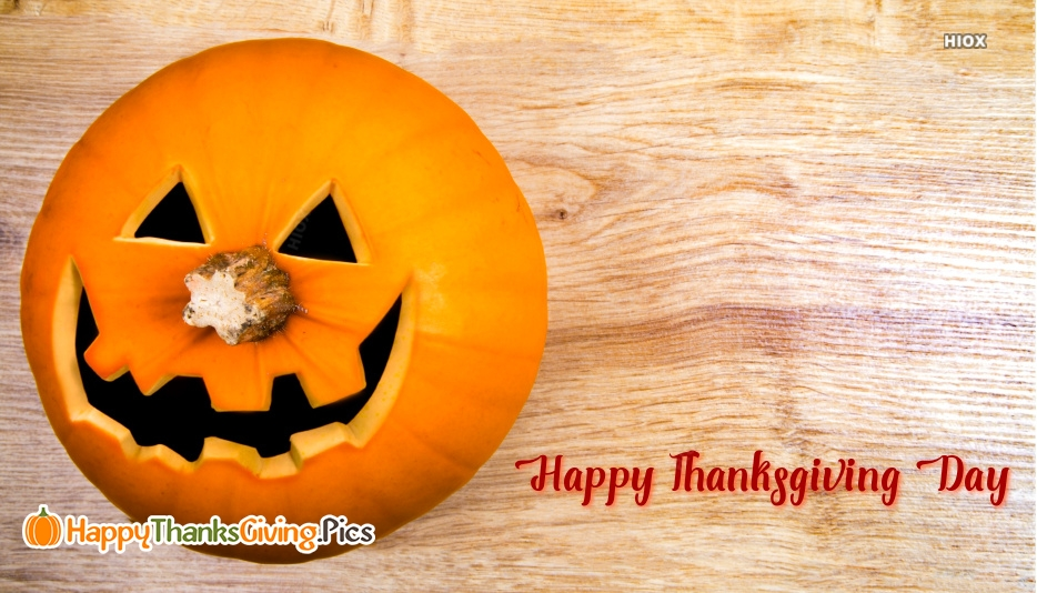 Happy Thanksgiving Pumpkin Images
