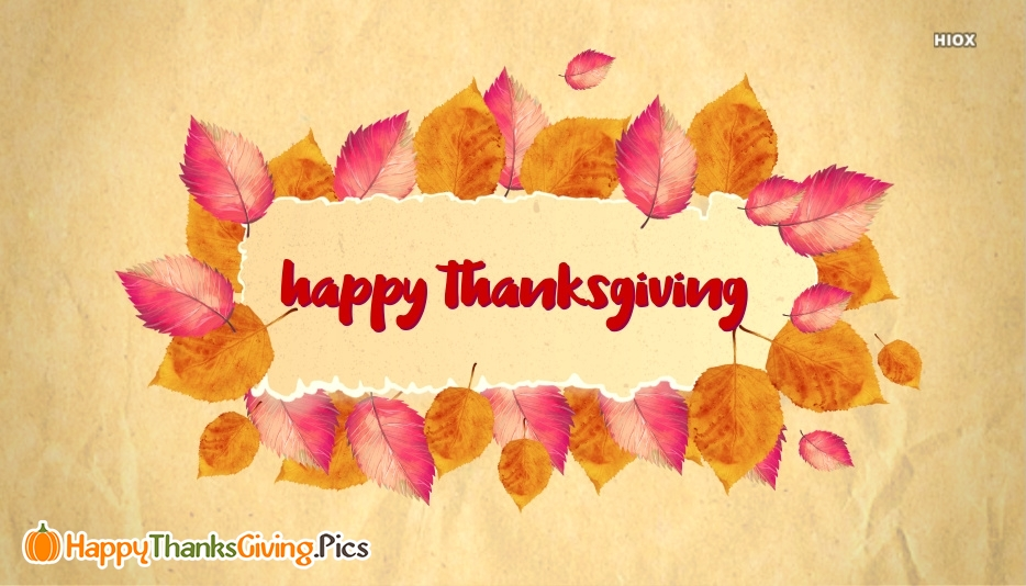 Happy Thanksgiving Banner Images, Pics