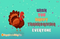 Thanksgiving Greeting Card Images