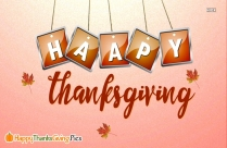Happy Thanksgiving Thankful Quotes