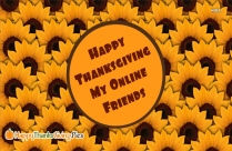 Thanks For Friends Like You. Happy Thanksgiving