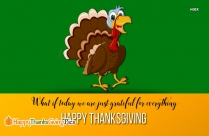 Giving Thanks To God For His Bountiful Blessings. Happy Thanksgiving