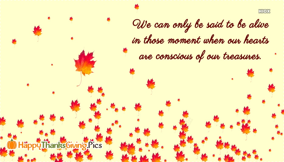 Inspirational Thanksgiving Quotes Messages