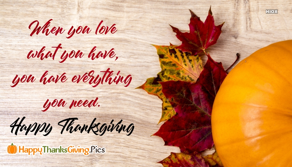 Happy Thanksgiving Messages Images